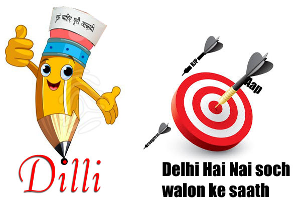 Right target at the right time, Delhi election 2015