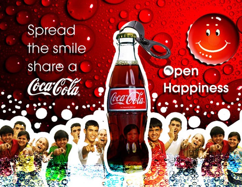coca cola new ad concept