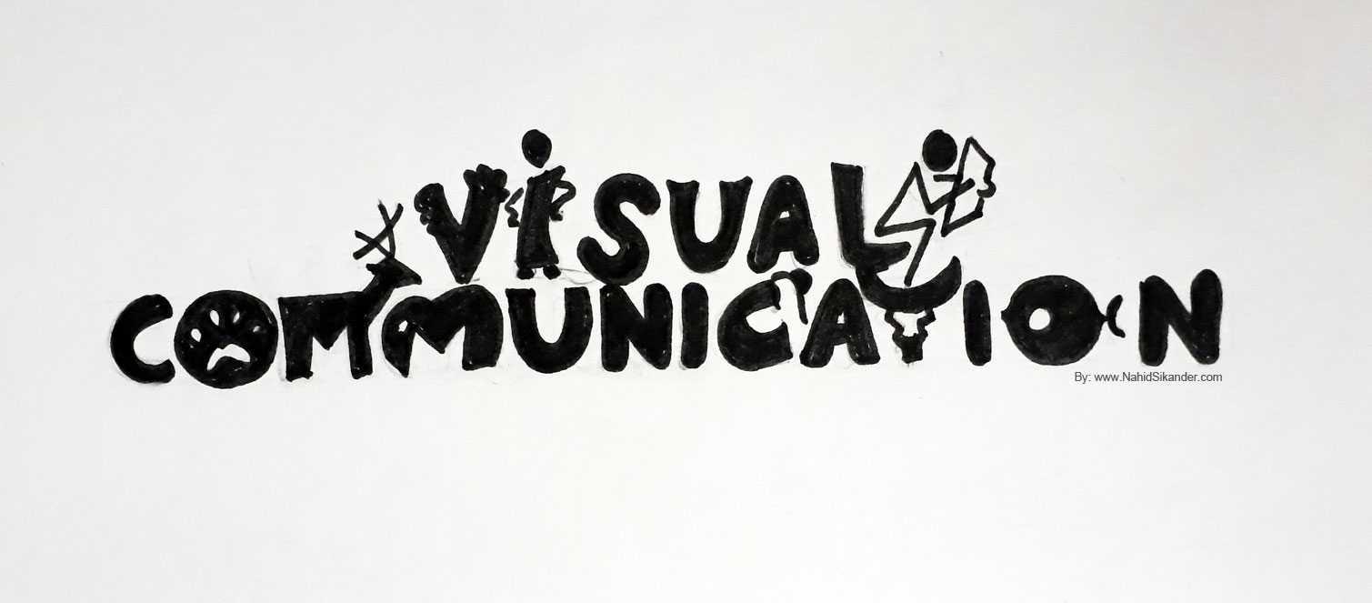 visual communication design and image