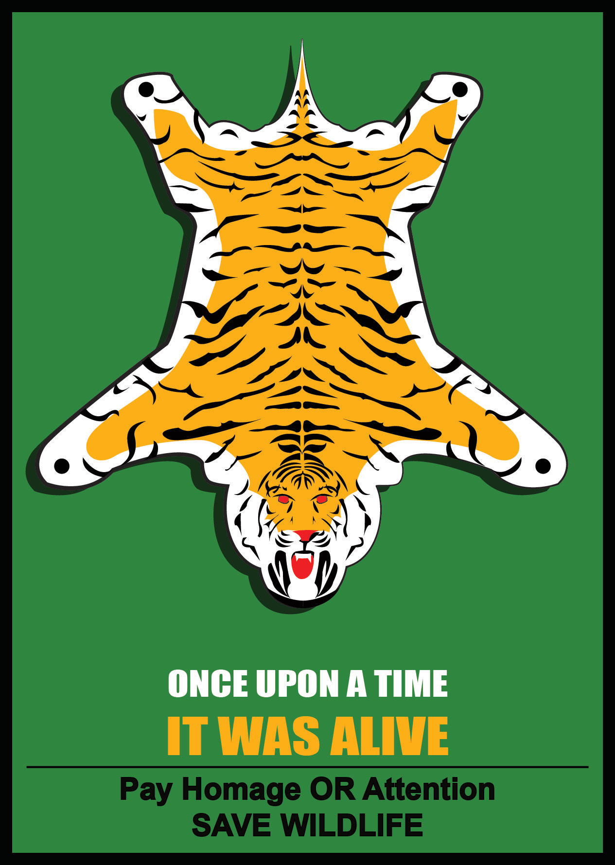 save wildlife, save tiger