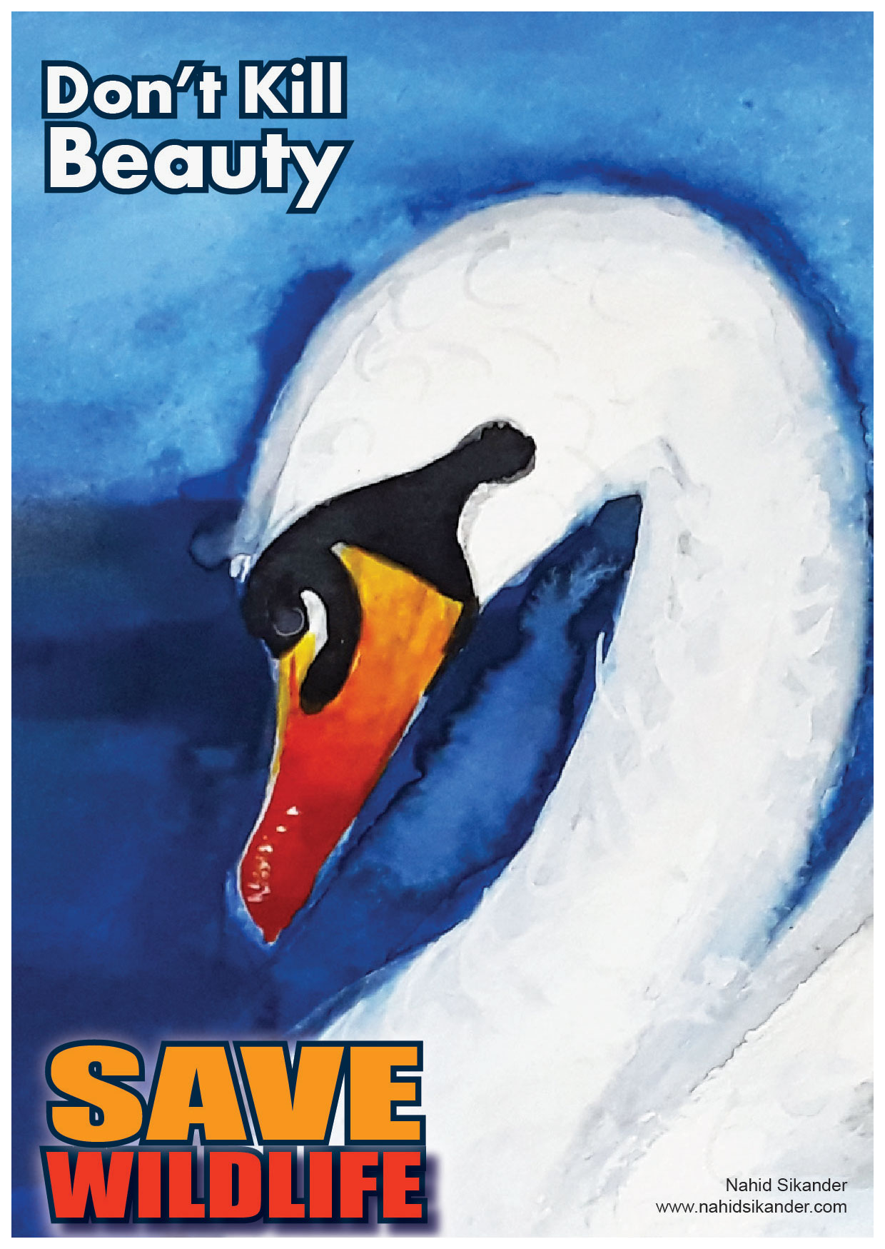 save swan, birds and wildlife