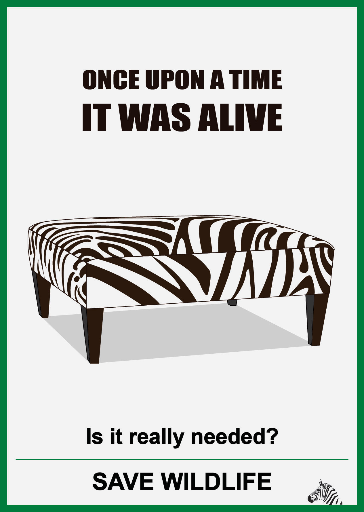 save wildlife and zebra