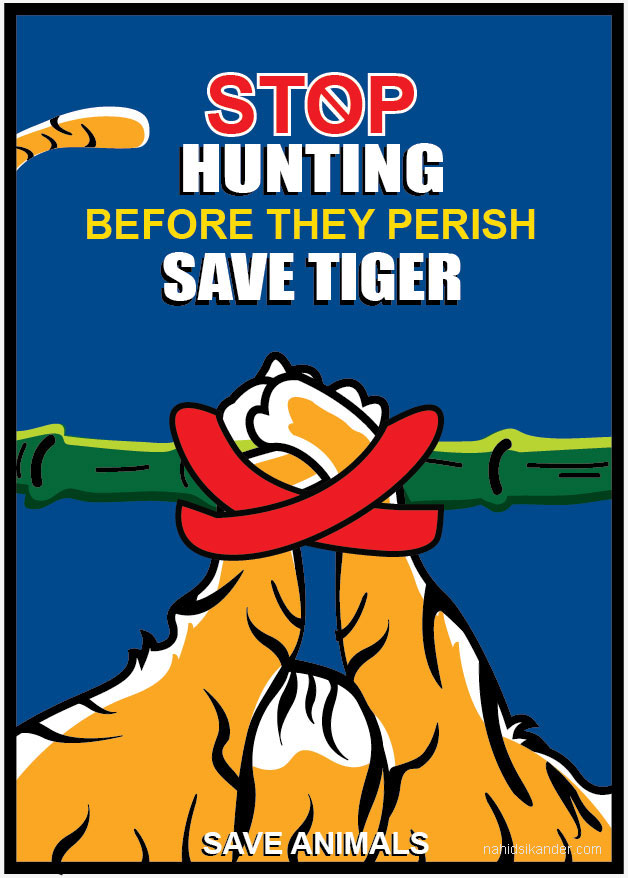 stop hunting save animals