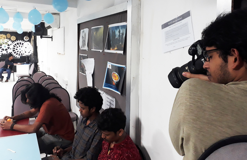 photography at animation day celebration at icat