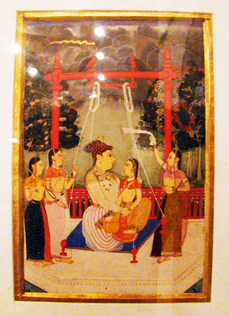 Prince making love with princes, Indian Art