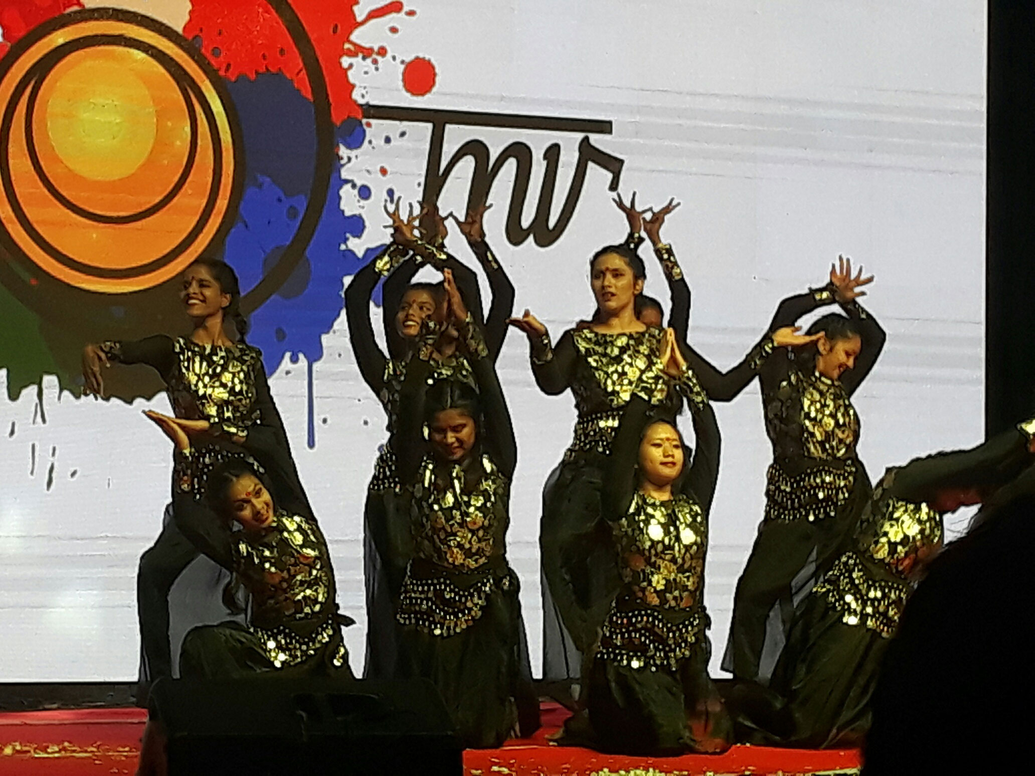 Group Dance by students, Chennai
