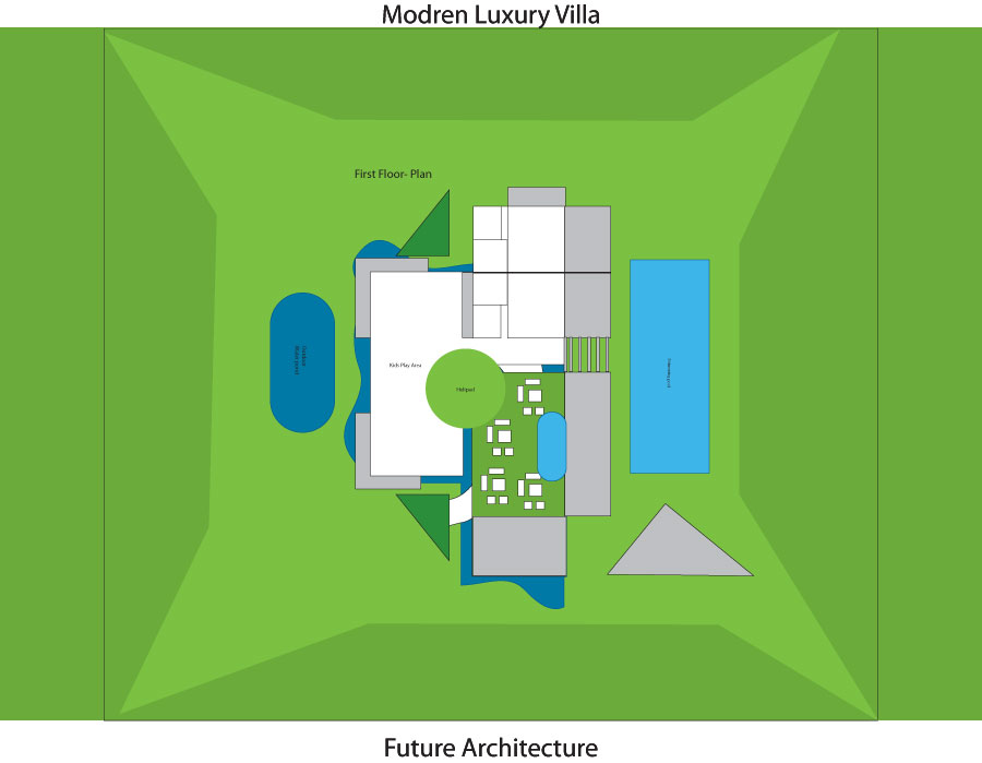 Luxury villa plan