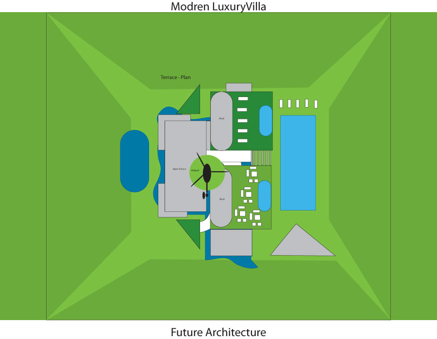 Modern Luxury villa plan for future