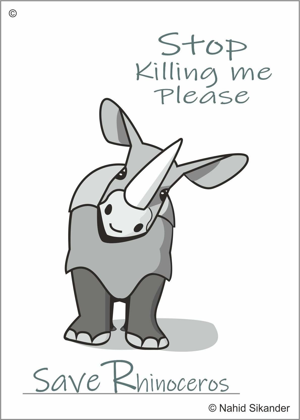 Save Rhinoceros